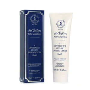 Mr Taylors Luxury Shaving Cream Tube 75ml