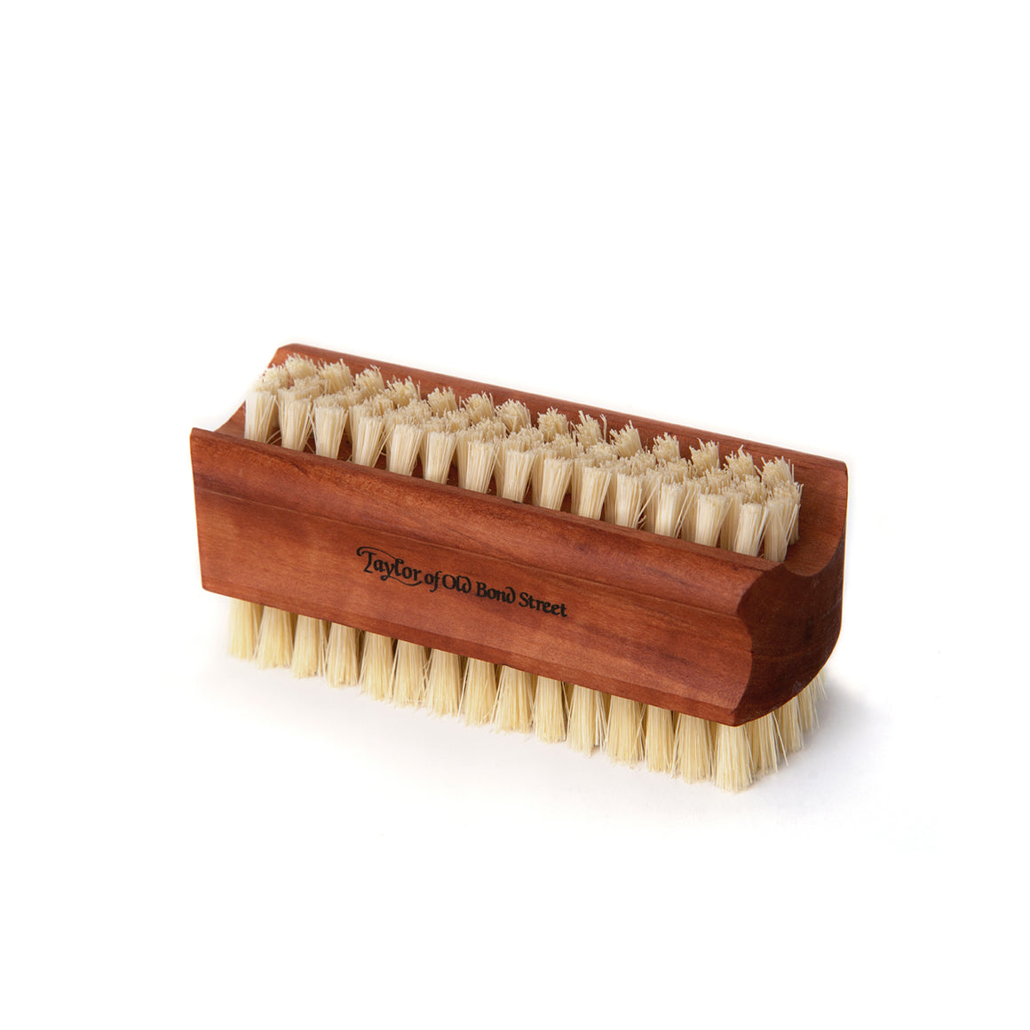Medium Pearwood Pure Bristle Nail Brush