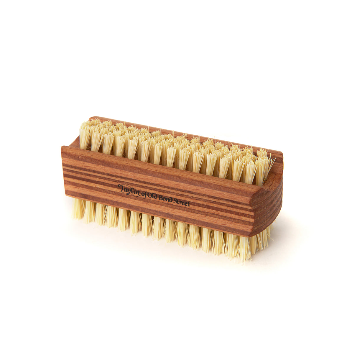 Medium Plywood Cactus Bristle Nail Brush