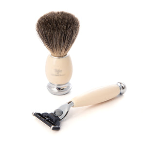 Pure Mach3 Georgian Shaving Set