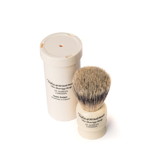 Taylor of Old Bond Street Travel Super Badger Shaving Brush in Case