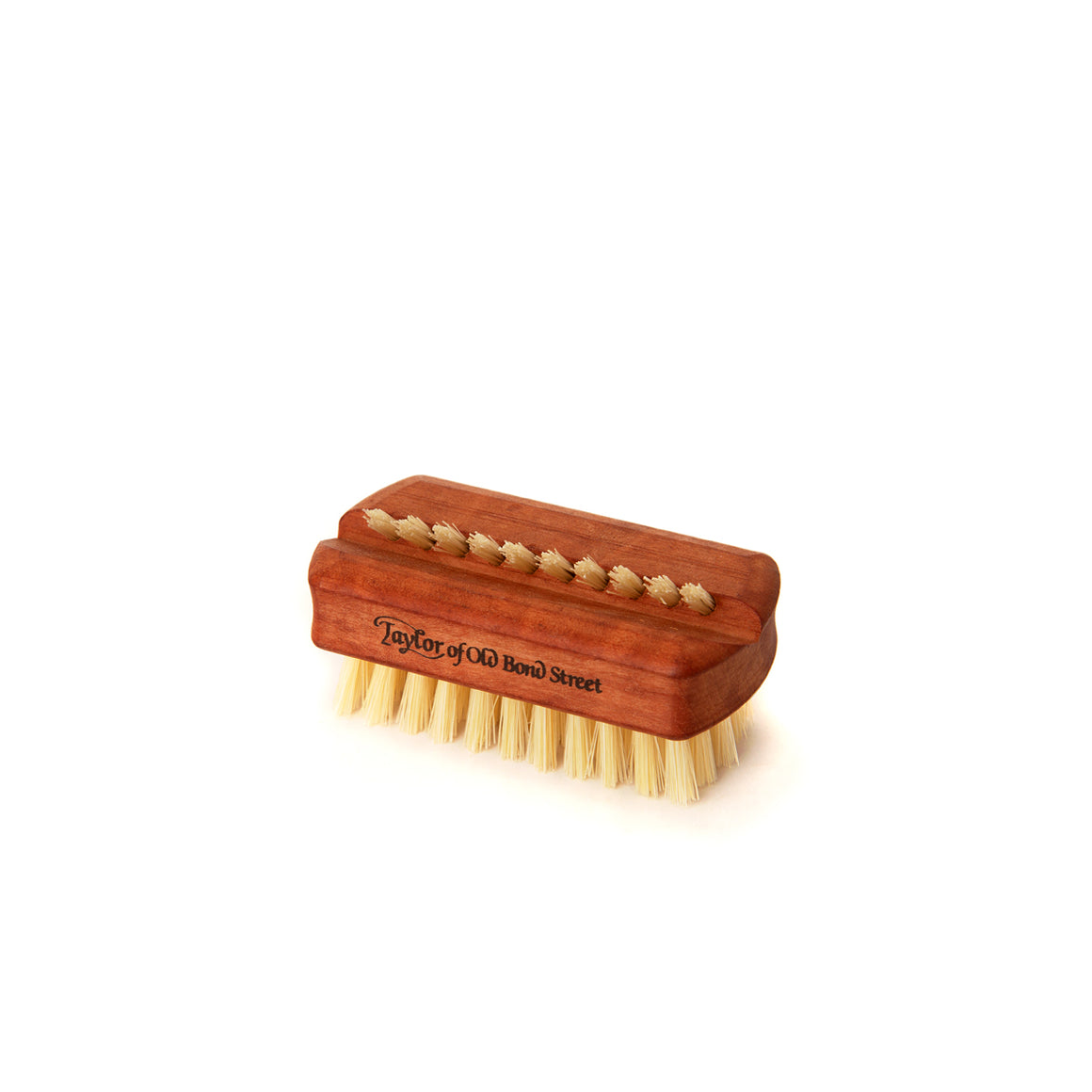 Small Pearwood Pure Bristle Nail Brush