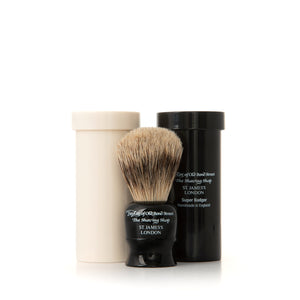 Travel Super Badger Shaving Brush in Case