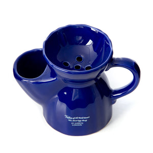 Victorian Ceramic Mug in Blue
