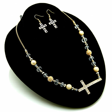 I'll Say A Little Prayer for You Necklace Set