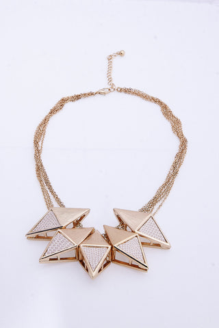 The Falling Star Earring & Necklace Set