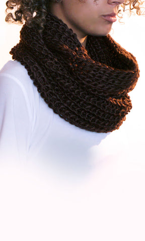 Release your Inner Diva Knit Scarf