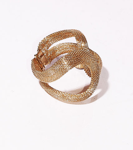 Hugged by a Seductive Snake Cuff Bracelet