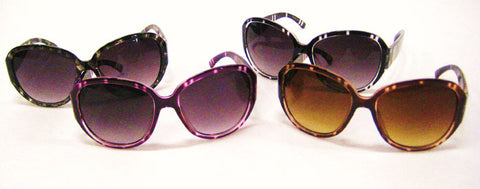 I'm too cool Colored Tortoise Shell Sunglasses