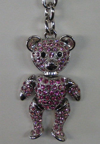 Shocking Pink Adjustable Bear