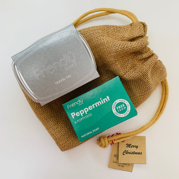 Soap and Travel Tin Gift Set
