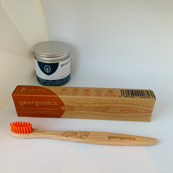 Georganics Natural Beech Toothbrush - Kids