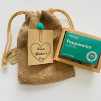 Mother's Day Soap and Bamboo Soap Dish Gift Set