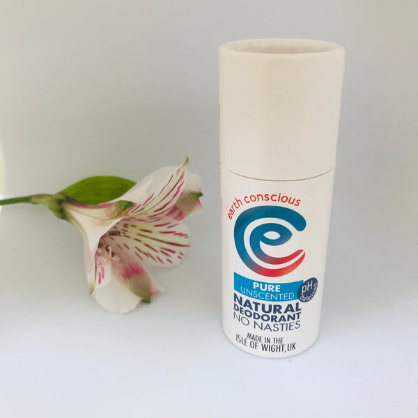 Earth Conscious Natural Deodorant Pure Stick