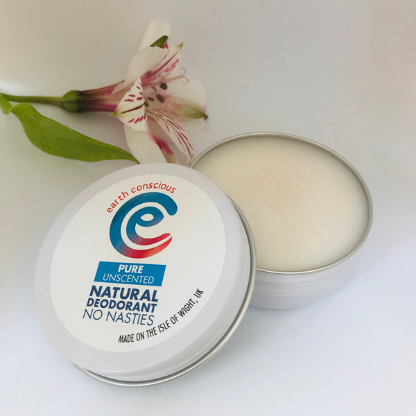 Earth Conscious Natural Deodorant Pure Tin