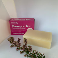 Friendly Soap - Lavender and Geranium Shampoo Bar
