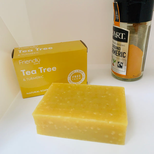 Friendly Soap - Tea Tree and Turmeric