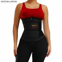 Charger l'image dans la galerie, BLACK FRIDAY Gaine waist trainer fitness sport workout - MWT® Gaine corset minceur