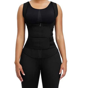 Gaine gilet fitness sport workout - MWT® Gaine corset minceur