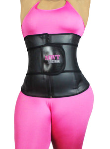 Gaine all latex fit xtreme à bande et zip - MWT® Gaine corset minceur