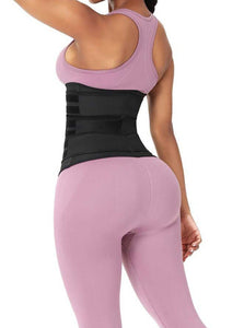 Gaine waist trainer fitness sport workout 3 bandes - MWT® Gaine corset minceur