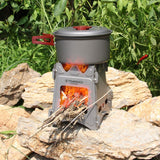 Titanium Wood Burner