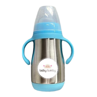 Dual Insulation Stainless Steel Baby Bottles