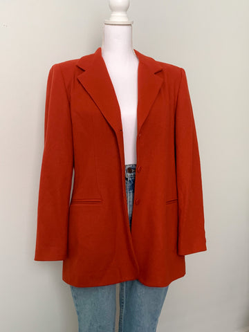 Rust Blazer - Rose Girls Vintage