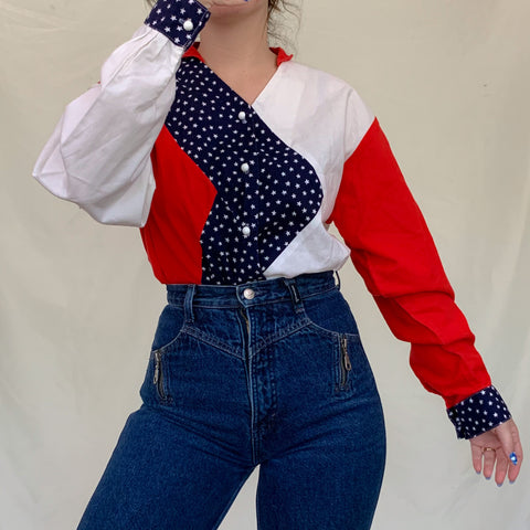 USA Western Blouse