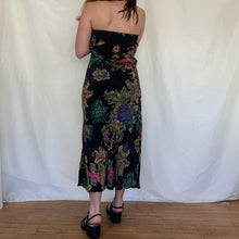 Load image into Gallery viewer, Silk Floral Skirt