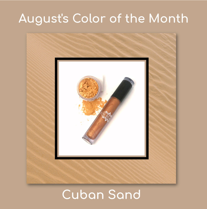 August's Color of the Month is Cuban Sand