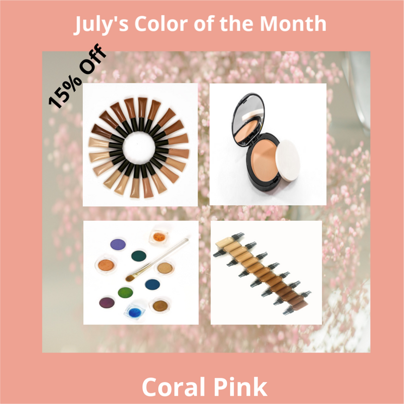 July's Color of the Month is Coral Pink