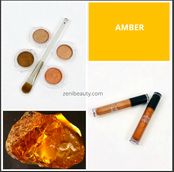 November's Color of the Month is AMBER