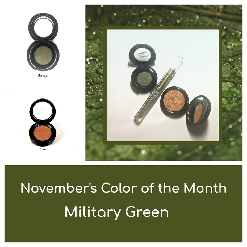 November's Color of the Month is Military Olive