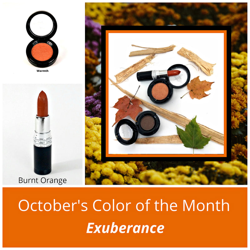 October's Color of the Month is Exuberance