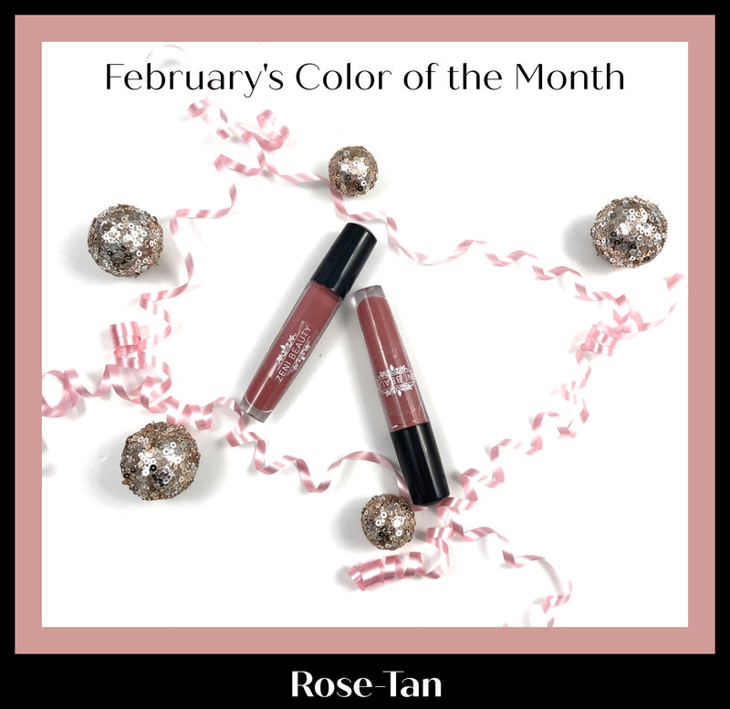 February's Color of the Month is Rose-Tan