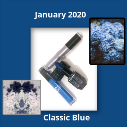January's Color of the Month is Classic Blue...