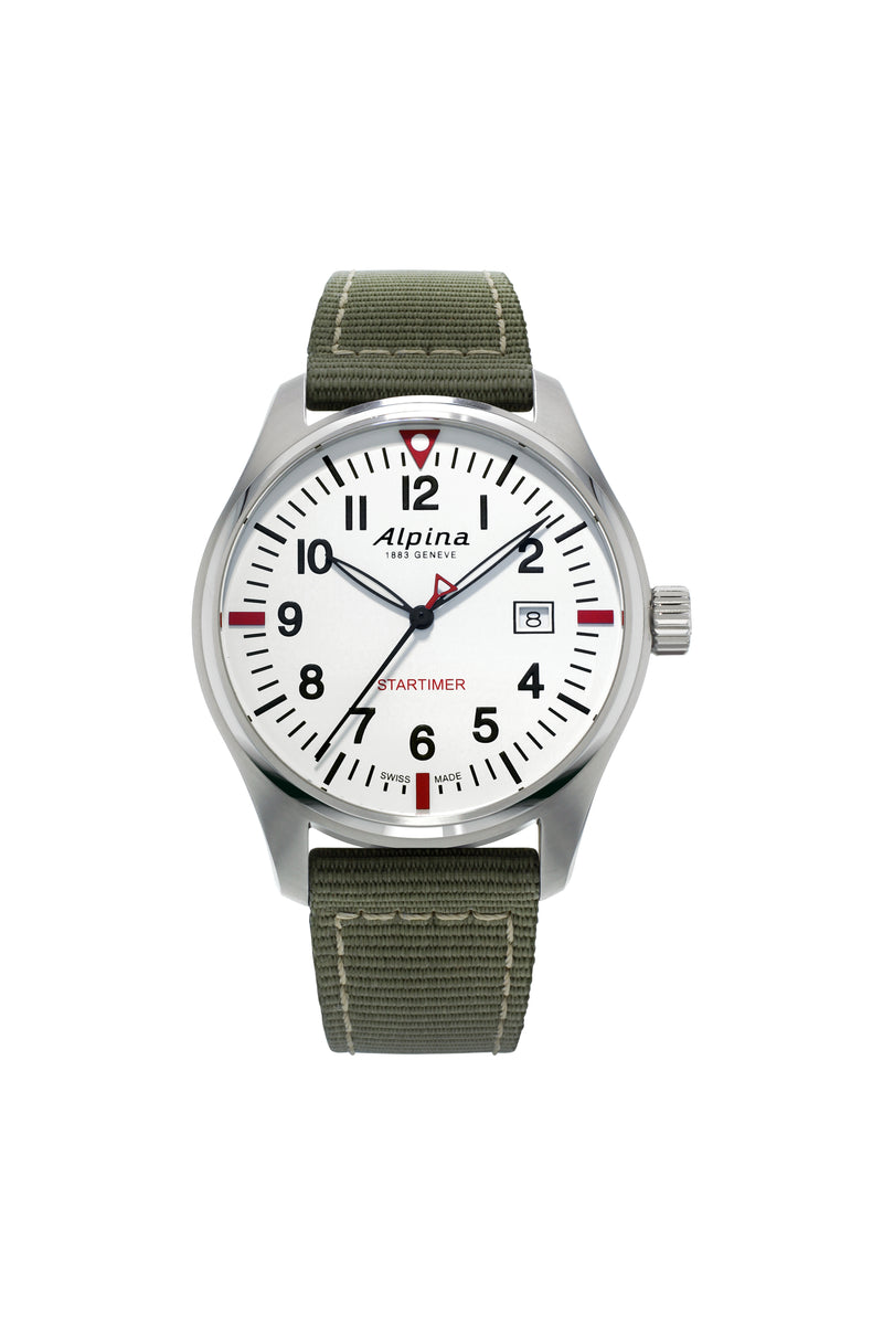 Startimer Quartz 42 mm Pilot's Watch - AL-240S4S6
