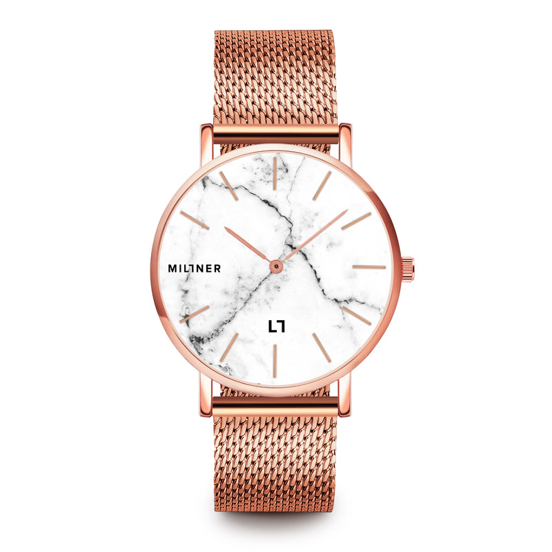 39MM Camden - Marble Rose Gold 8425402504536