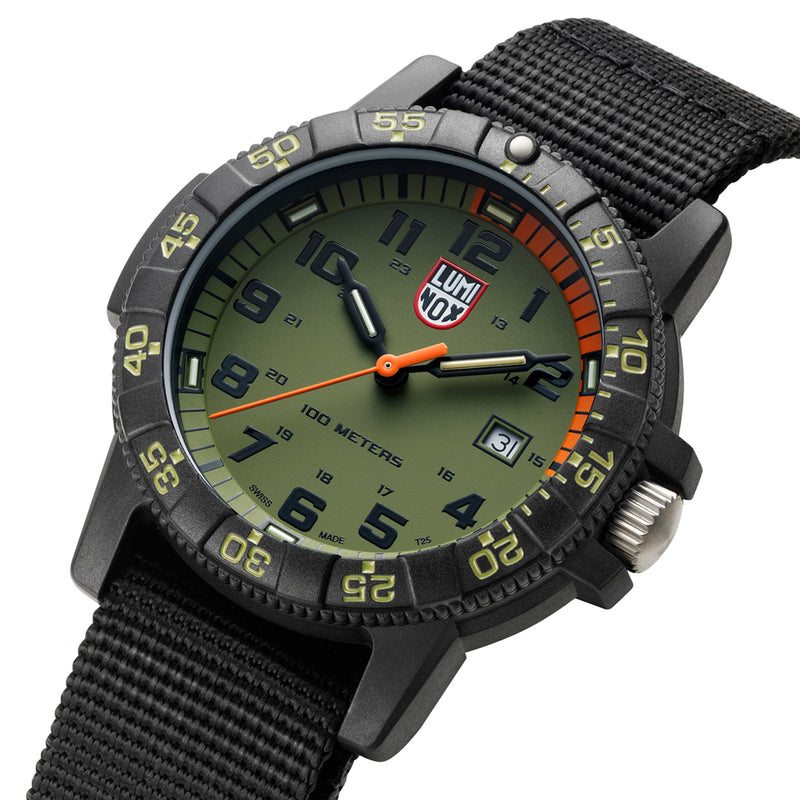 Leatherback SEA Turtle Giant, 44 mm, Outdoor Watch - XS.0337.EP
