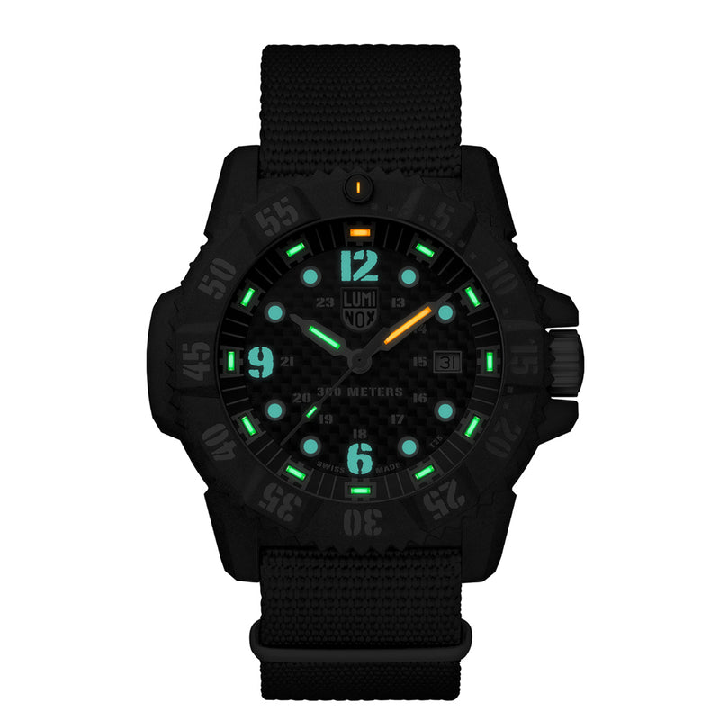 Master Carbon SEAL, 46 mm, Military Watch / Diver Watch - XS.3803.C
