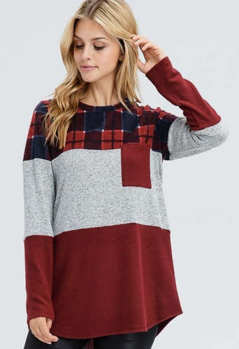 Jetty Block Knit Sweater