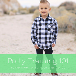 Potty Training 101! 3 simple tips to get your wee one going!