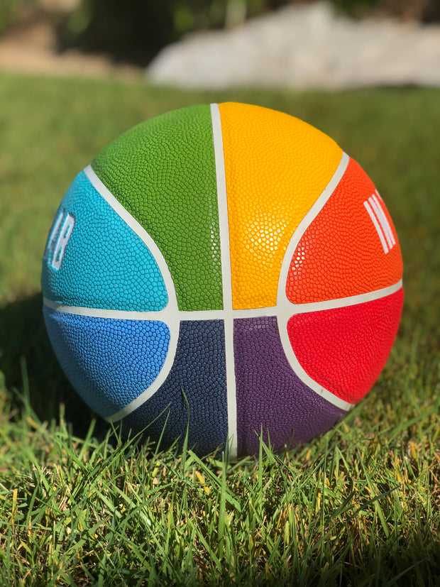 The Rainbow Basketball
