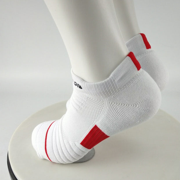 ITL Red Ankle Socks