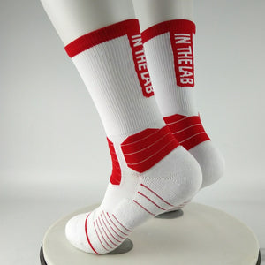 ITL Red Crew Socks