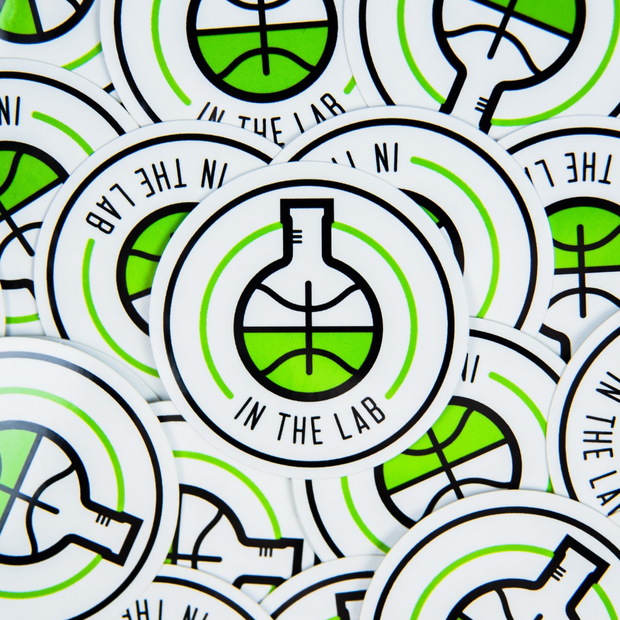 Beaker Stickers - In The Lab