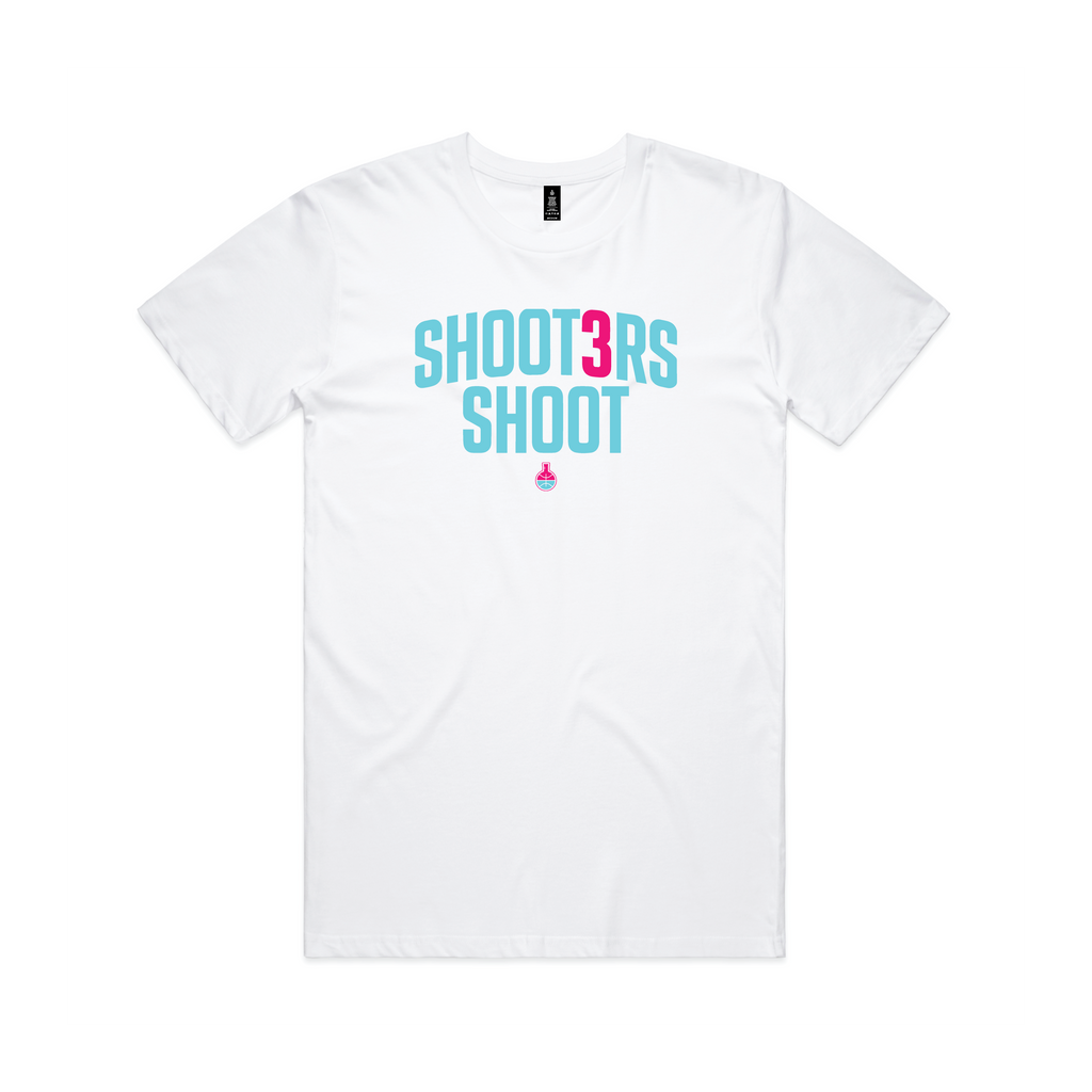 Shooters Shoot Tee (White)