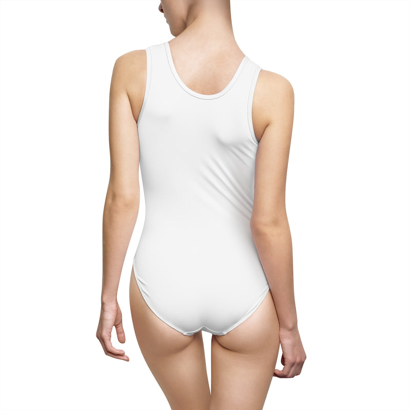 The Real MVP WIFEY Women's Classic One-Piece Swimsuit
