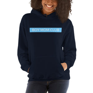 Boy Mom Club Hooded Sweatshirt